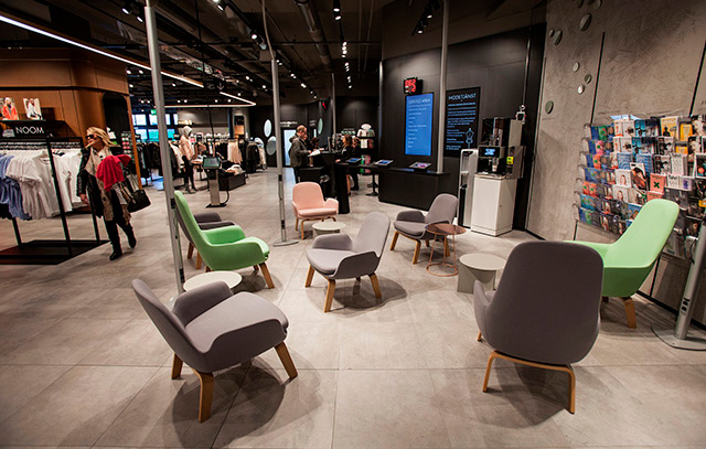 The Tapiola department store opened